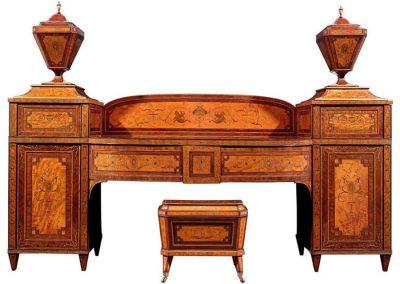 vict-satinwood-mahog-pedestal-sideboard